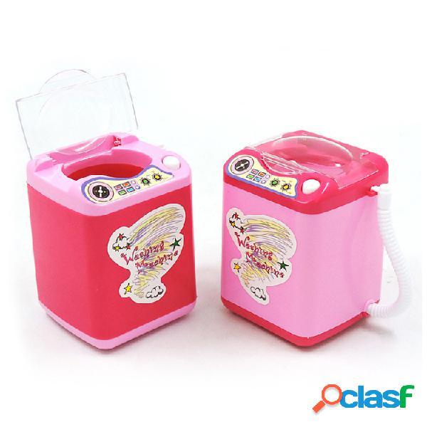 Máquina de lavagem escova automática elétrica multi-funcional da simulação escova da máquina da mini lavagem