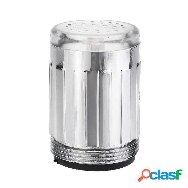 Material do abs led faucet light sensor de temperatura 3 cor sem bateria torneira da água faucet glow shower