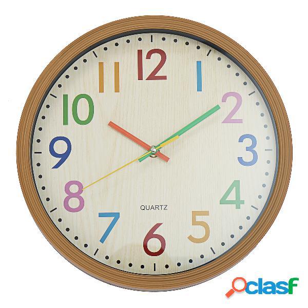 Análogo de quartzo interno decorativo non-ticking silencioso relógio da parede de quartzo relógio