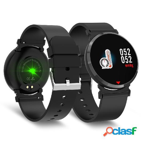 Estilo empresarial relógio inteligente hd relógio de tela grande monitor de oxigênio na pressão arterial monitor de atividade pulso banda