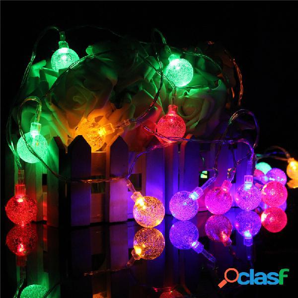 3m 20led bateria bubble ball fairy string lights garden party xmas wedding home decor