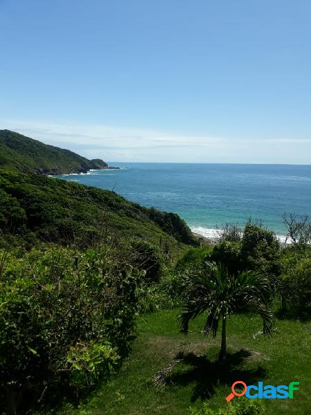 Oportunidade-lindo terreno frontal na praia brava,vista linda