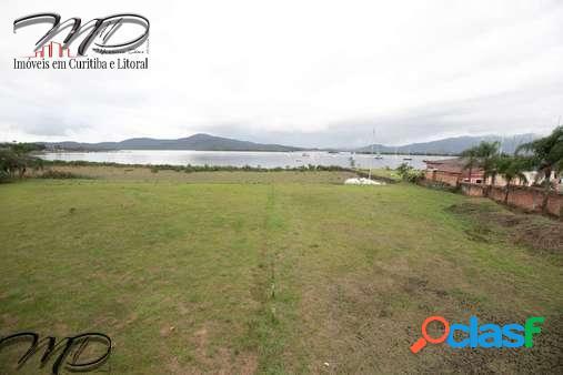 Área à venda 18.107 m² de frente a baía de antonina no centro