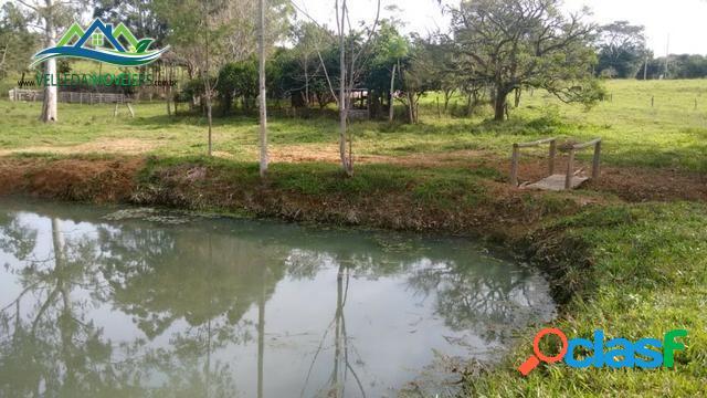 5 hectares, casa, açude, galpão, 9 km da RS 040, S243