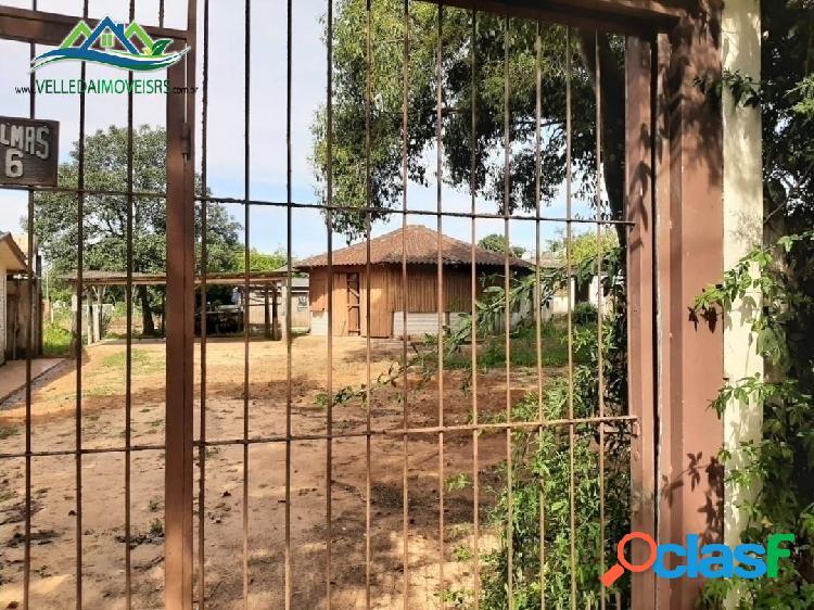 Velleda oferece 2 terrenos e meio com 2 casas + quiosque 1