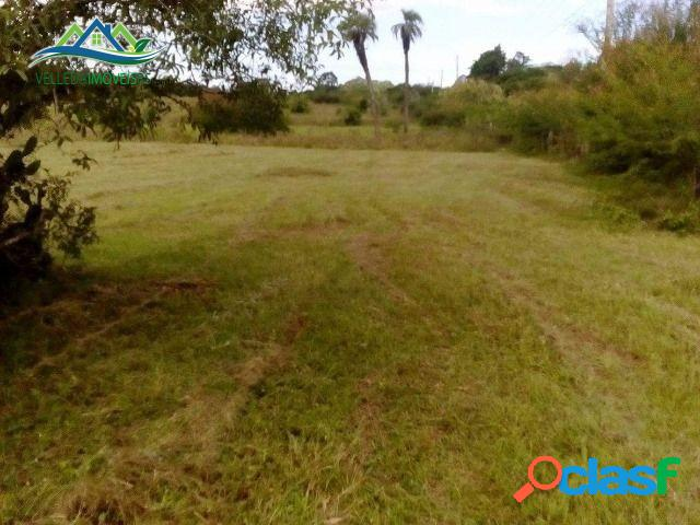 Velleda oferece 19 hectares, 1 km rs040, serve para loteamento/condomínio