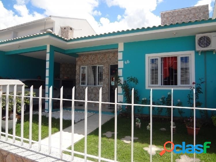 Casa com 2 dormitórios a venda, 130 m² por r$ 310.000,00 - forquilhas