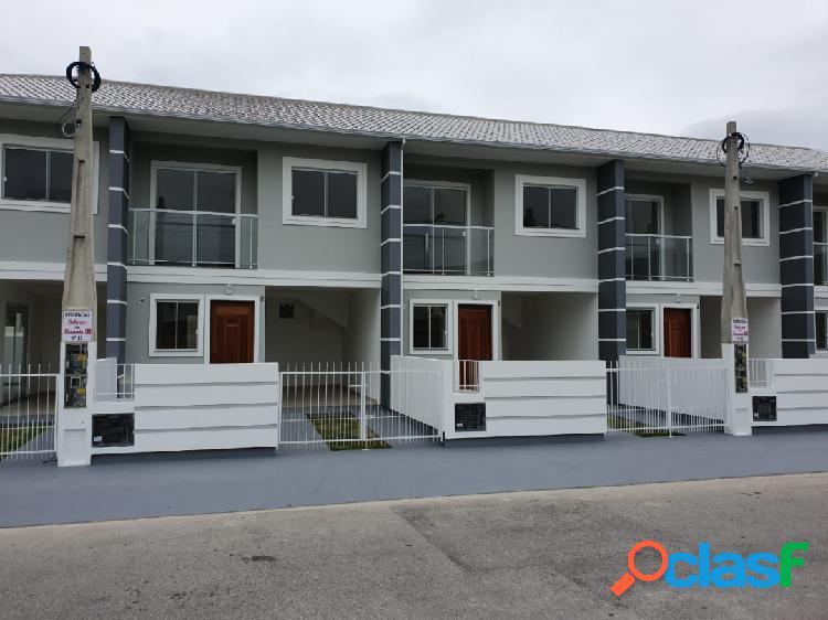 Sobrado com 2 dormitórios à venda, 76 m² - forquilhas - são josé/sc