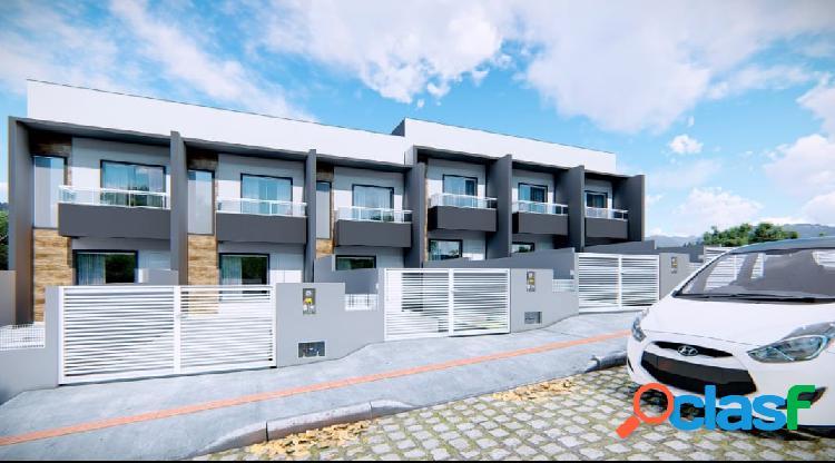 Sobrado com 3 dormitórios a venda, 110 m² areias são josé/sc