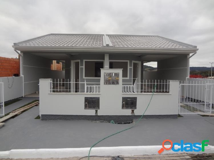 Casa com 2 dormitórios a venda, 66 m² por r$ 190.000,00 - forquilhas