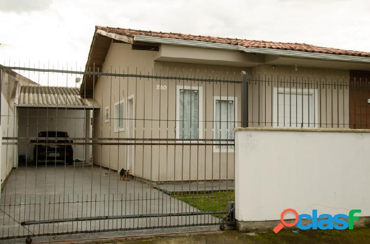 Casa com 3 dormitórios à venda, 95 m² - madri - palhoça/sc