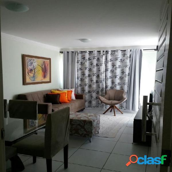 Apartamento com 3 dormitórios à venda, 70 m² por r$ 265.000 - nova parnamirim - parnamirim/rn