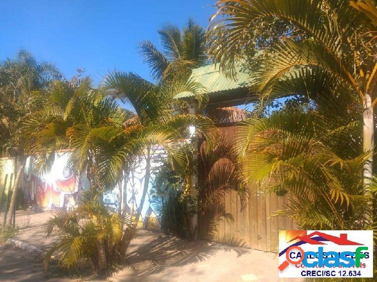 Lindo terreno 420m2 à venda na praia do moçambique - florianópolis - sc.