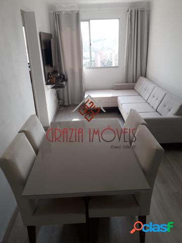 Apartamento 46M² 2 Dormitórios - Horto do Ypê