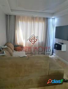 Apartamento 58m² - 2 Dorms, reformado com planejados - Inocoop Campo Limpo 1