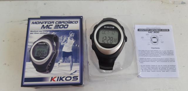 Relógio kikos monitor cardíaco / jacareí