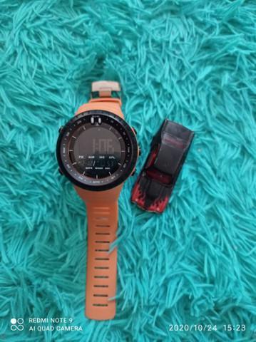 Relógio qled digital