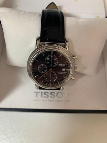 Relógio tissot carson automatic chronograph ? modelo: