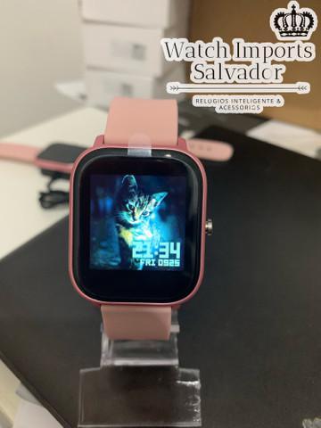 Relógio celular feminino p8 rosa