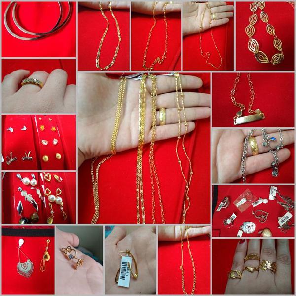 Semi jóias preço desapego