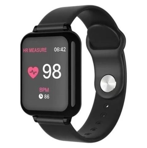 Smartwatch heroband 3 b57 notificações modo esporte saúde