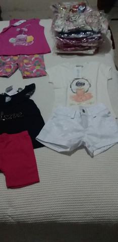 Venda de kit de conjuntos para menino ou menina de 01 ate 10