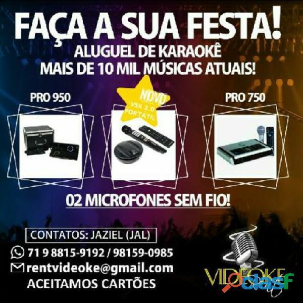 ALUGUEL DE KARAOKÊ @rentvideoke
