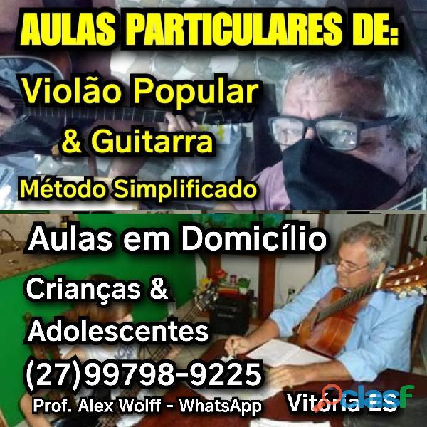 (27)99798.9225 aulas violão para crianças em domicílio vix
