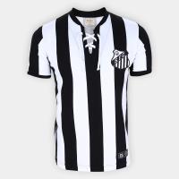 App] camisa santos cordinha retrô mania masculina
