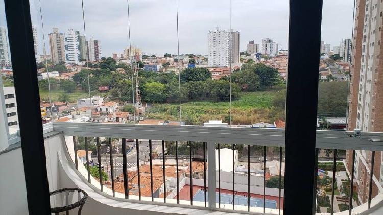 Apartamento reformado 184mt2 cambuí - edifício costa do