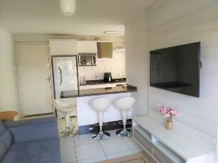 Apartamento à venda com 2 quartos, semi mobiliado em parque