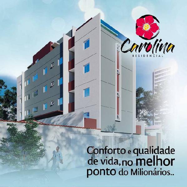 Apartamentos de 2 e 3 quartos com até 126m² no