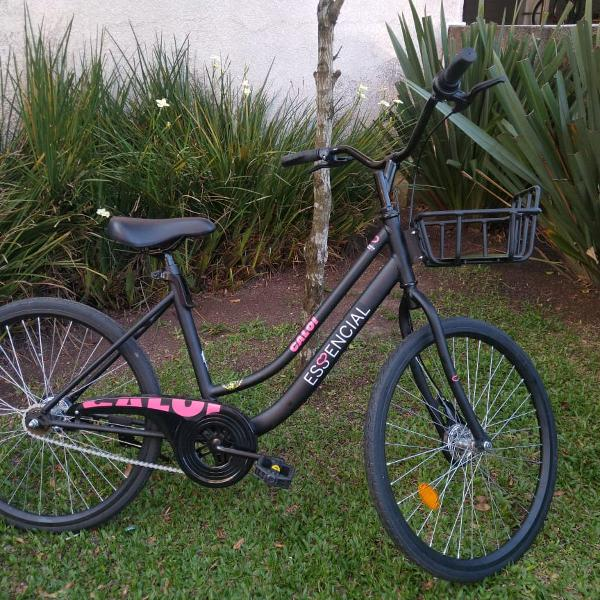 Bicicleta feminina caloi adulto