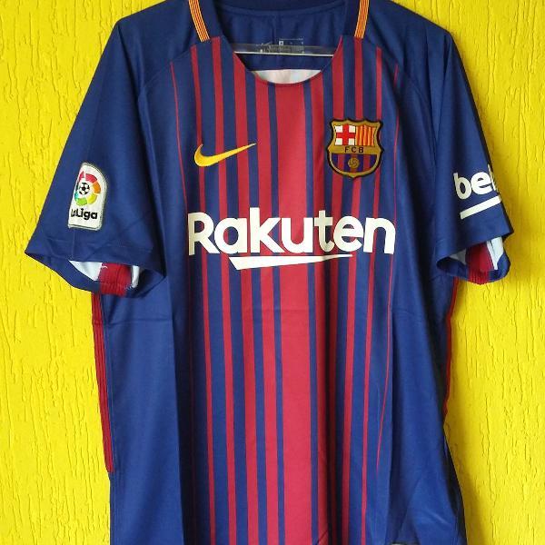 Camisa barcelona 2017/2018 - nike - tamanho m