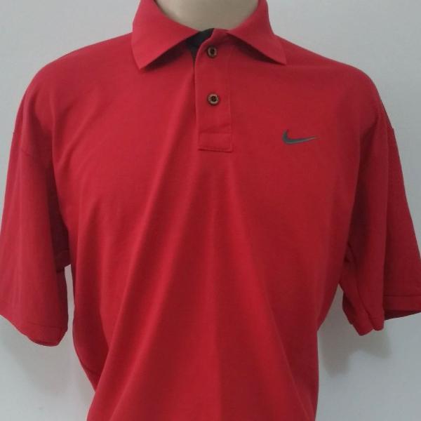 Camisa polo nike vermelho gg