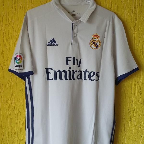 Camisa real madrid 2016/2017 - adidas - tamanho p - 9