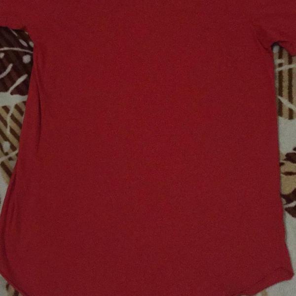 Camiseta masculina oversized long(tam. g)