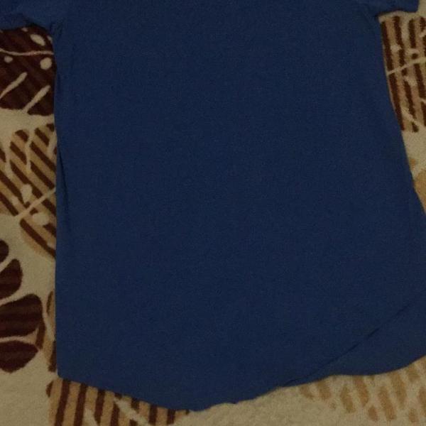 Camiseta masculina oversized long(tam. m)