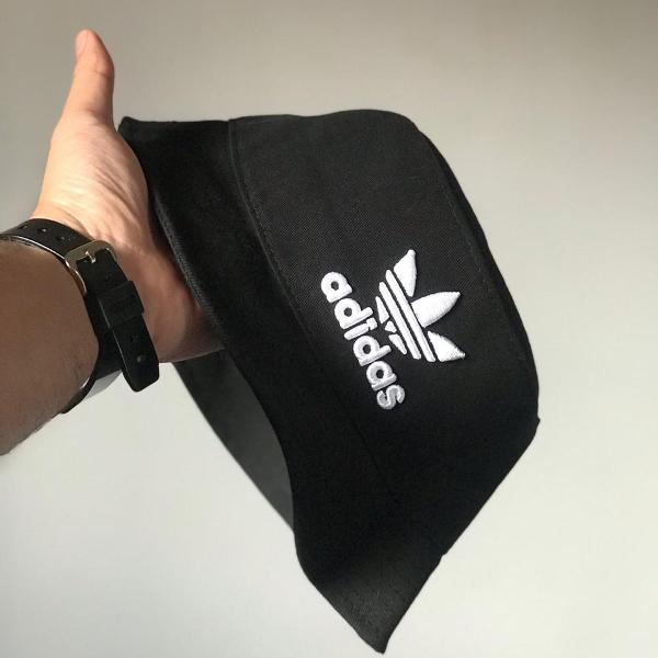 Chapéu bucket hat adidas trefoil black