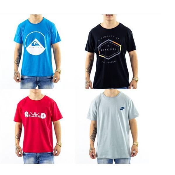 Kit 10 camiseta surf camisa preço de revenda atacado