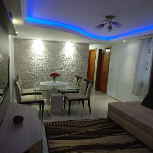 Lindo apartamento reformado semimobiliado p/ venda 2 dorm.,