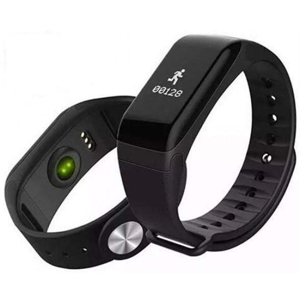 Relógio monitor cardiaco wearfit - bluetooth - preto
