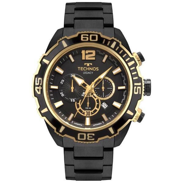 Relógio technos masculino legacy preto