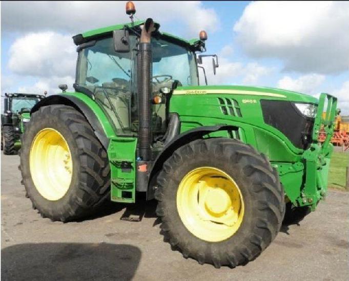 Tractor agrícola john deere 5100m + carregador