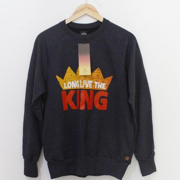 Blusão hering unissex - disney the lion king