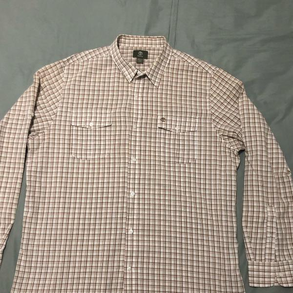 Camisa xadrez timbeland