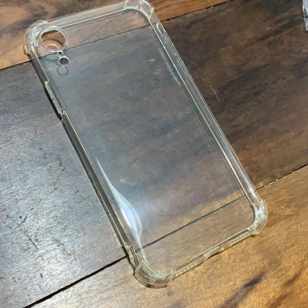 capa trabsparente iphone xr