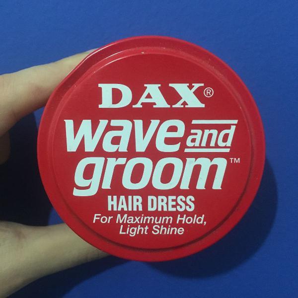 Cera para cabelo dax wax