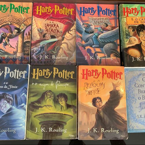 Coleção livros harry potter + coleção de livros harry