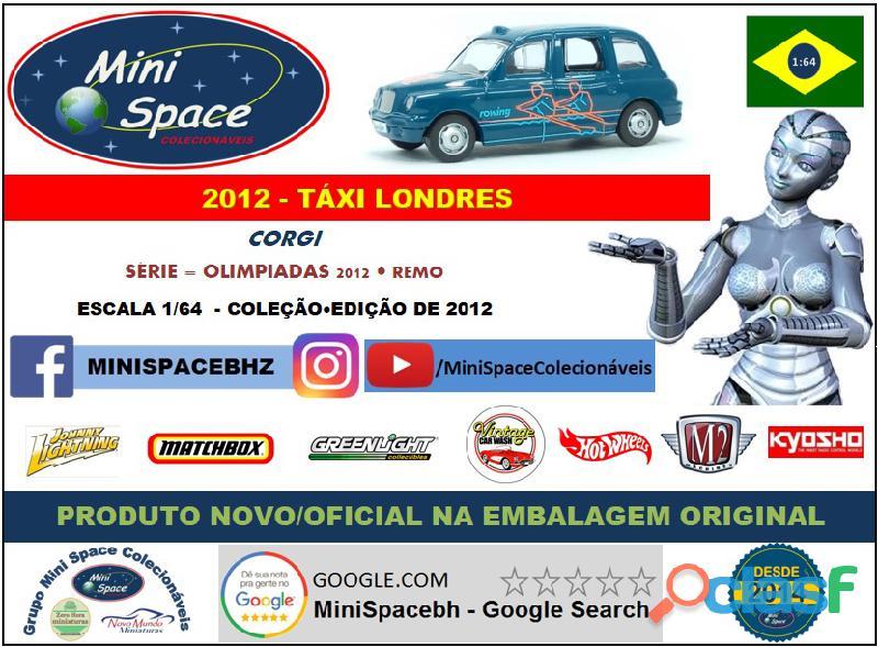 Corgi 2012 Táxi Londres Olimpíadas Remo 1/64 8